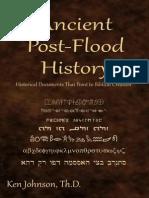 Ancient Post Flood History-   Johnson Ken