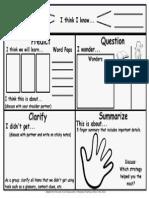 reciprocalteachingorganizerchart pdf