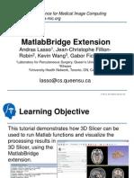 Mat Lab Bridge Tutorial