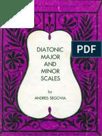 Segovia - Scales for Classic Guitar