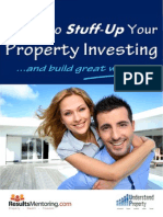 How NOT to Stuff Up Your Property Investing 2015
