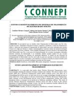 ESTUDO E DESENVOLVIMENTO DE SISTEMAS DE TRANSMISS+âO DE ELETRICIDADE SEM FIO