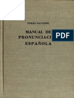 Manual of Spanish Pronunciation (Spanish)