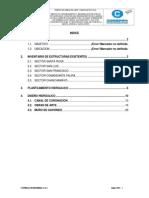 Informe de Estructuras Hidraulicas