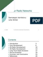 Cellular Radio Networks
