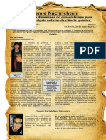 Chemie Nachrichten - História Da Química - 4ª Edição
