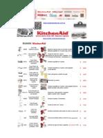 Lista KitchenAid Accesorios 2015