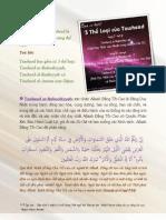 Các Thể Loại Của Tawheed Và Định Nghĩa