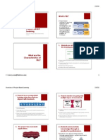 overview of pbl ppt handout