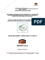 Geotecnia Km11+400 NARIÑO - PUENTE LINDA VER0 (Reparado) JJLR