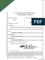 Standridge v. United States of America - Document No. 6