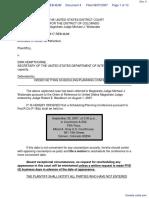 Kunk v. Kempthorne - Document No. 4