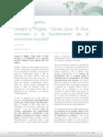 Reseña Bibliográfica Junio 2014 - Stiglitz - caida libre