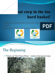 Don't Put Carp in the Too Hard Basket