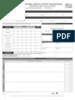 Formato Reportes de Calificaciones