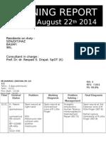 LAPORAN JAGA 21 AGUSTUS 2014.pptx