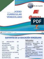 Proceso Curricular Venezolano