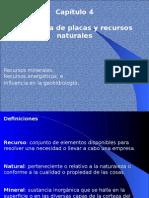 Tectónica de placas y recursos naturales