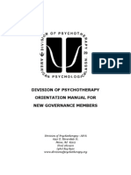 Division Orientation Manual