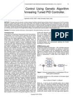 Optimal Cruise Control Using Genetic Algorithm and Simulated Annealing Tuned Pid Controller