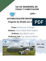 Automatización de una Planta de Producción de Biogás