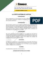 Acuerdo 19-2010 CSJ