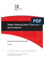 Water Heating and Data Collection