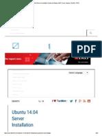 Ubuntu 14.04 Server Inst..