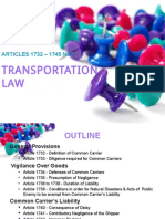 Transportation Law Report