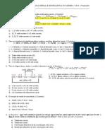 Prova a de Quimica Geral Unig 2014 p2