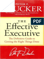 The Effective Executive - Peter F. Drucker