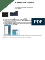 Manual Penggunaan Komputer