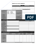 CSC FORM 212-Blank Document