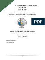Flex y Bison Examen