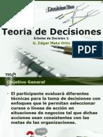 Teoría de Decisiones 7 Árboles de Decisión 2