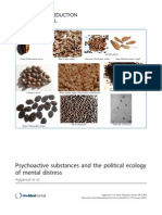 Psychoactive Substances and the Political Ecology of Mental Distress