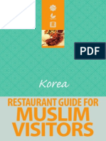 Halal Restaurants Guide in Korea