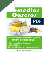 Remedios Caseros - Mundo Asistencial