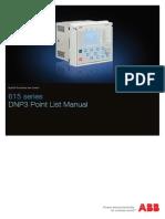 615 Series DNP3 Point List Manual_A