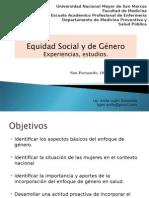 Equidad Social y de Genero