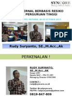 Audit Internal Di Perguruan Tinggi Tadulako 28 30 Oct 2013