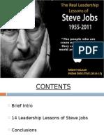 Leadership Lessons Steve Jobs Mohit Kelkar PGDM-EXEC-14-15
