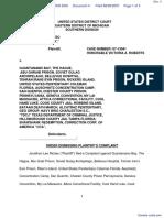 Riches v. Guantanamo Bay et al - Document No. 4
