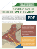 Le risque inondation dans les vallées de l'Orb et du Libron