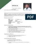 Resume - Patrick Yabut