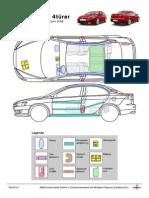Mitsubishi Rettungsdatenblatt Lancer CY0 4dr