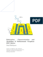 Fabrication, Characterisation and modelling of subharmonic graphene FETs