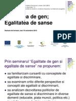 Prezentare Seminar Egalitate de Gen -----Fff Bun