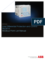 RED615 5.0 IEC Modbus Point List Manual_F