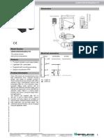 Thru-beam sensor - LD39/LV39/32/40a/82a/116
